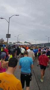 Getting to the start line
